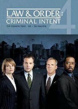 Law & Order: Criminal Intent: Season 4