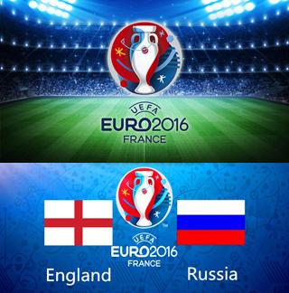 Uefa Euro 2016 Group B England Vs Russia