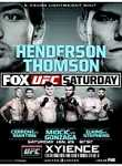 Ufc On Fox 10 Henderson Vs Thomson