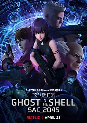 Ghost In The Shell Stand Alone Complex 2045 (dub)