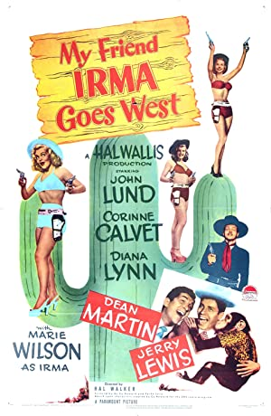 My Friend Irma Goes West