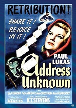 Address Unknown 1944