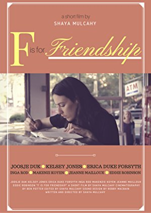 F Is For Friendship