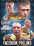 Cage Warriors 69 Facebook Prelims