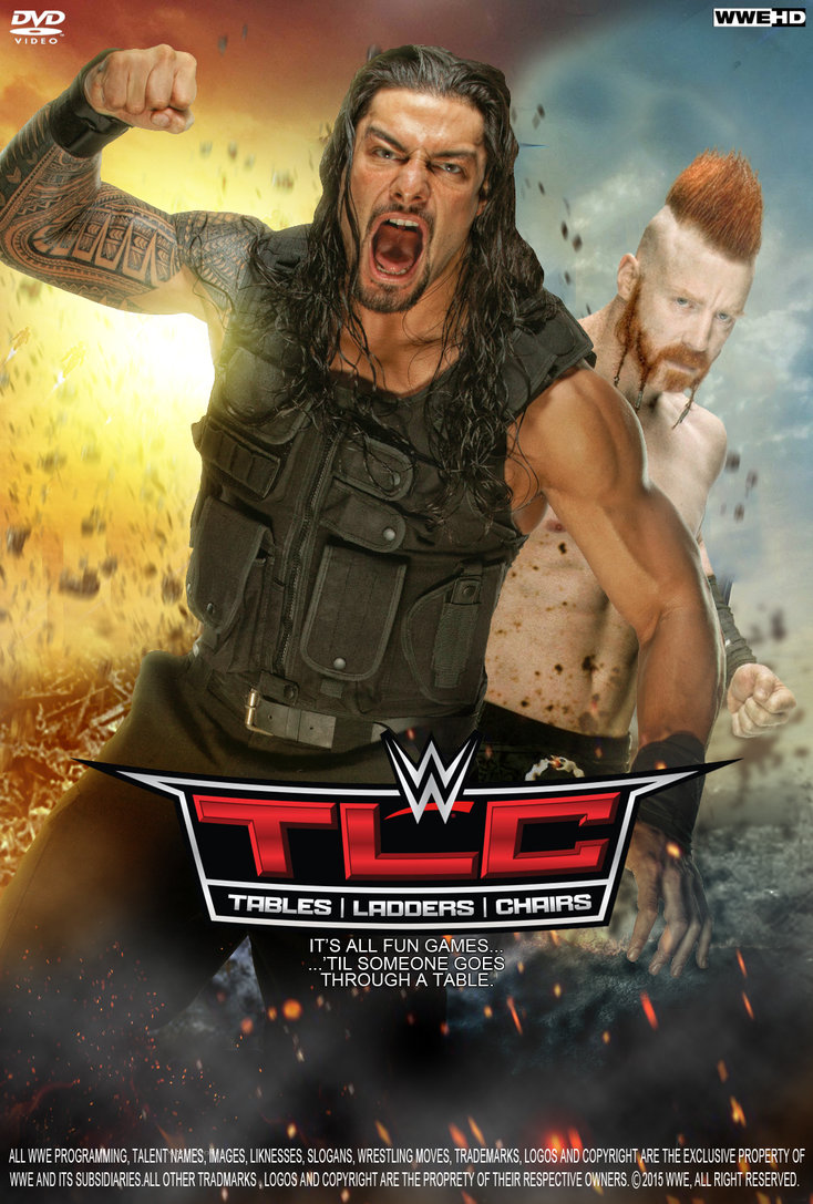 Wwe Tlc Tables, Ladders & Chairs Ppv 2015