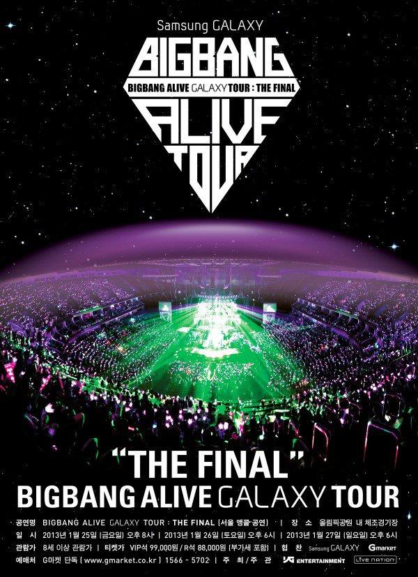 Bigbang: Alive Galaxy Tour Final In Seoul